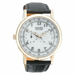 """Citizen Men's AO9003-16A """"Eco-Drive"""" Rose Gold-Tone Stainles"""