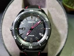 Citizen Eco-Drive Men's Watch New With Tags Red Black AW1585
