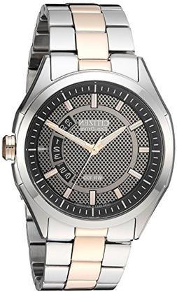 Drive from Citizen Eco-Drive Men's Silver/Rose Gold-Tone Wat