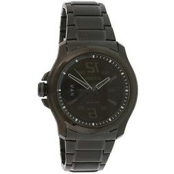 Citizen Men's Eco-Drive Black Ion-Plated Stainless Steel Bra