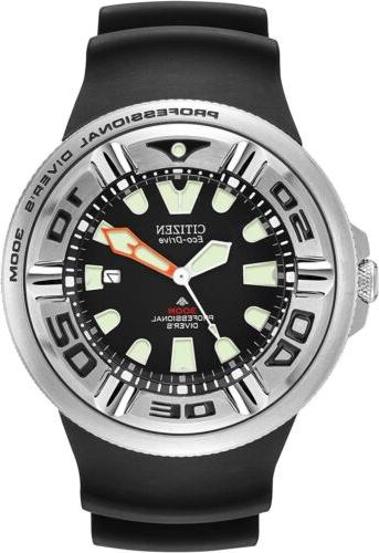 BRAND SEALED ECO DRIVE DIVER WATCH W/DATE 300m