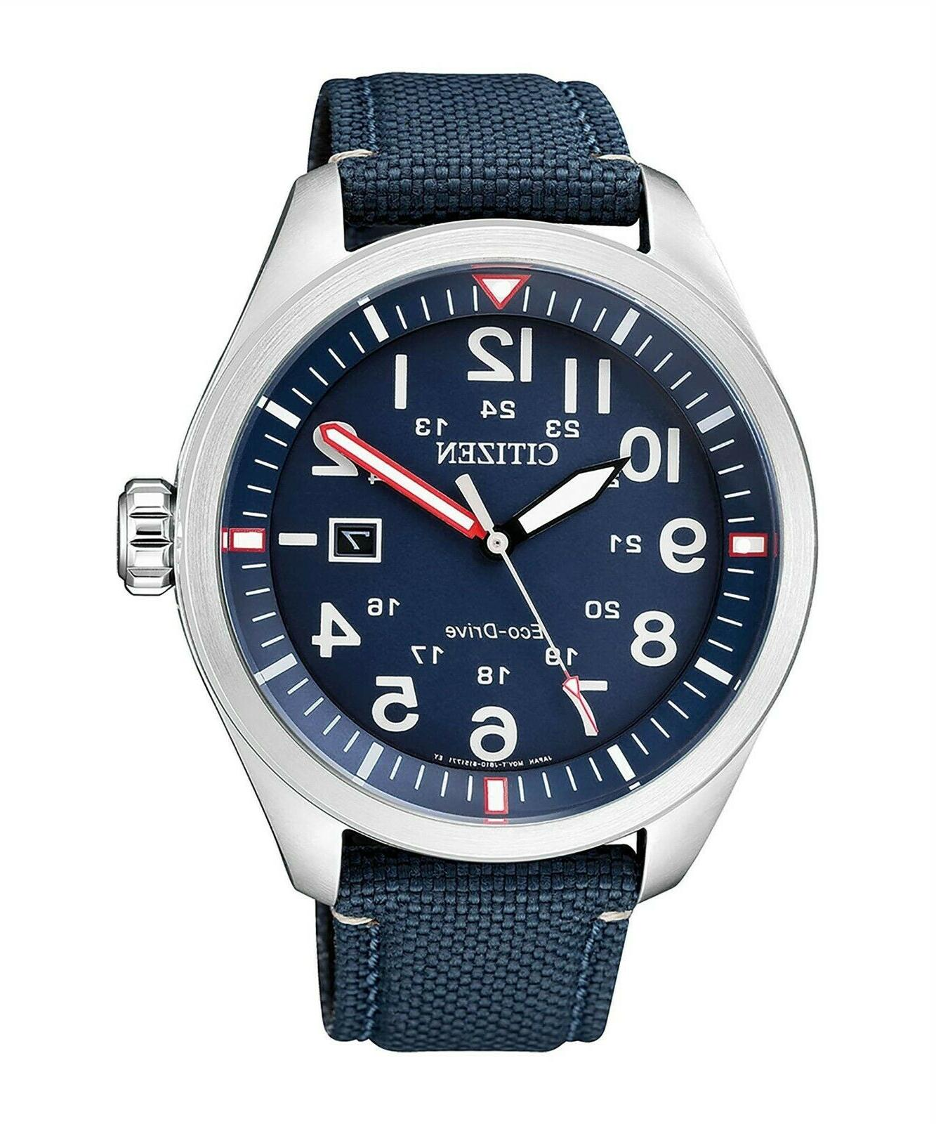 casual men s eco drive watch aw5000