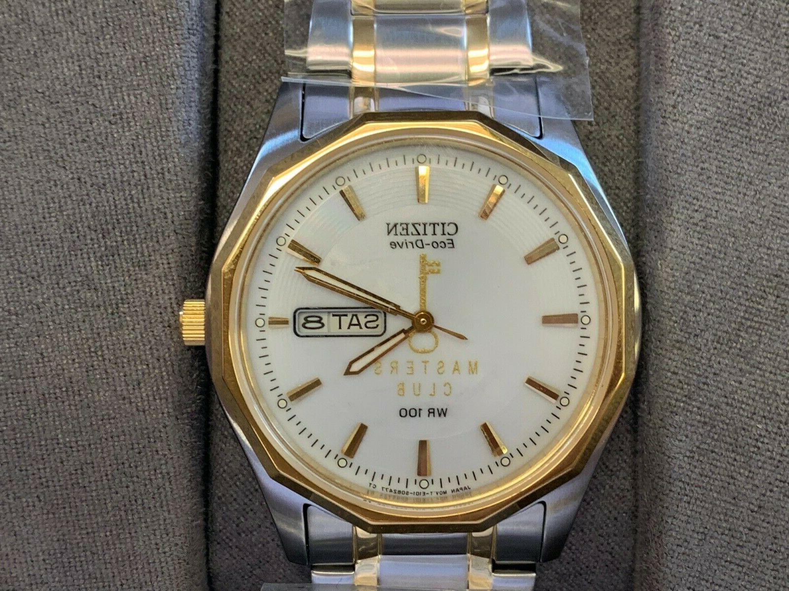 new men s gold and silver watch