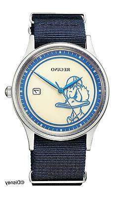 "CITIZEN REGUNO Disney Collection ""Donald Duck"" KH2-910-90 Me"