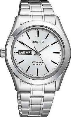 CITIZEN CITIZEN REGUNO KM1-211-11 Solar Men's Watch New in B
