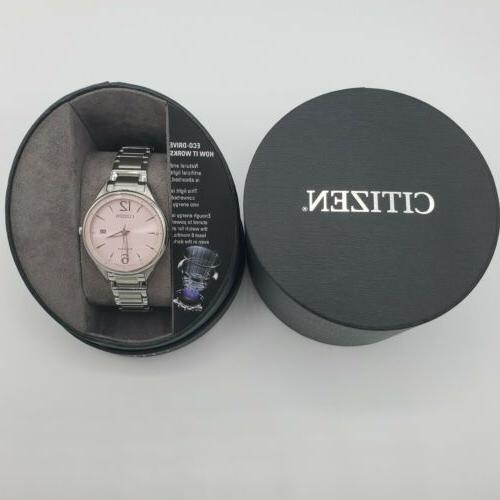 Citizen Watch FE6100-59X Eco Drive Stainless Steel