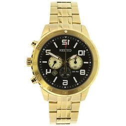 Citizen Men's AN8132-58E Gold Stainless-Steel Plated Japanes