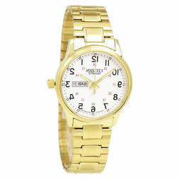 NEW* Citizen BF0612-95A Men's Gold Tone Expansion Band Day D