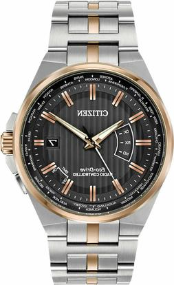 NEW CITIZEN ECO-DRIVE RADIO CONTROLLED WORLD PERPETUAL A-T C