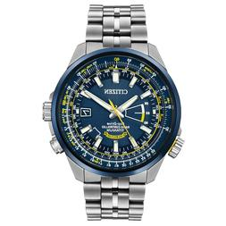 NEW CITIZEN ECO-DRIVE MEN'S WATCH BLUE ANGELS WORLD AT ALL T