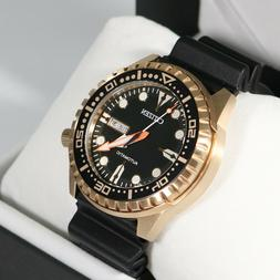 CITIZEN NH8383-17E Automatic Analog Marine Gold Stainless St